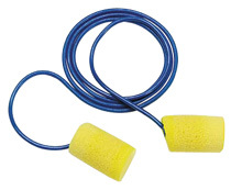E-A-R Classic Plus Metal-Detectable Foam Ear Plugs Corded (NRR 29)