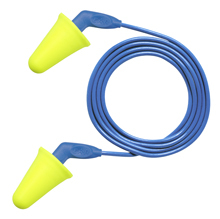 E-A-R Push-Ins SofTouch No-Roll Foam Ear Plugs Corded (NRR 31) (Case of 2000 Pairs)