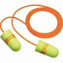 E-A-Rsoft SuperFit UF Foam Earplugs Corded (NRR 33) (Box of 200 Pairs)