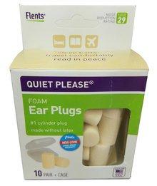 Flents Quiet! Please PVC Foam Ear Plugs (NRR 29) (10 Pairs)