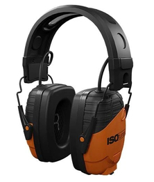 ISOtunes Link IT-30 OSHA-Compliant Noise Isolating Bluetooth Earmuffs with Music + Calls + Hearing Protection (NRR 24)