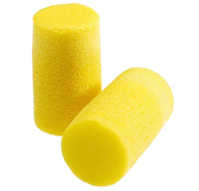 E-A-R Classic Plus PVC Foam Ear Plugs in Pillow Pack - Large/Grande (NRR 33) (Box of 200 Pairs)