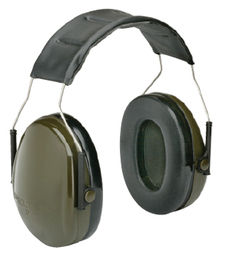 3M Artillery Earmuff 4240-00-NSH-0022 (H6A GN) Headband Style (NRR 21)