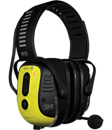 Sensear SmartMuff SM1PBT001 Smart Group Communications Two-Way Leader Headset