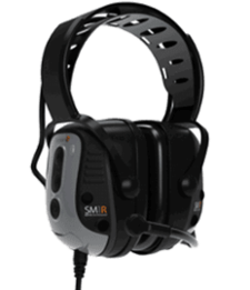 Sensear SmartMuff SM1RB001 Radio Powered Communications Headset (NRR 25)