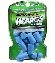Hearos 5826 Xtreme Protection Series UF Foam Ear Plugs (NRR 33) (14 Pairs)