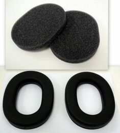 Tasco Replacement Ear Muff Pads (30065, 29505, 29005, 27005, 60005, 22935) for All Tasco Earmuffs (One Pair Pads + Dampers)