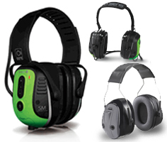 Face-to-Face High Noise Communications Headsets