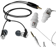 Universal Fit Isolation Earphones
