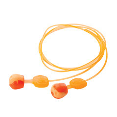 Howard Leight by Honeywell TRUSTFITPOD-30-5 Trust-Fit Pod No-Roll Ear Plugs Corded (NRR 28) (Box of 25 Packs, each with 5 Pairs)