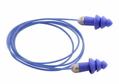 Moldex Rockets 6415 Reusable Metal Detectable Ear Plugs Corded (NRR 27)