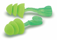 Moldex Glide Trio Reusable Earplugs (NRR 27) (Box of 50 Pairs)