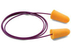 Moldex Softies® 6650 UF Foam Ear Plugs Corded (NRR 33) (Case of 2000 Pairs)