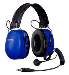 3M Peltor MT7H79F-FM-50 MT Series FM Two-Way Radio Headset, Intrinsically Safe (NRR 25)