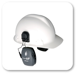 Howard Leight by Honeywell Bilsom Leightning L1H HardHat Model Ear Muffs (NRR 23)
