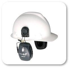Howard Leight by Honeywell Bilsom Leightning L2H HardHat Ear Muffs (NRR 25)