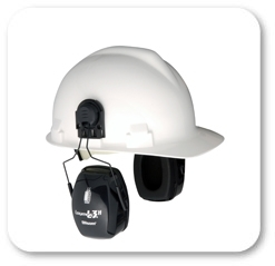 Howard Leight by Honeywell Bilsom Leightning L3H HardHat Model  Ear Muffs (NRR 27)