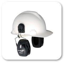 Howard Leight by Honeywell Bilsom Leightning L3H HardHat Model  Ear Muffs (NRR 27)