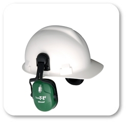 Howard Leight by Honeywell Bilsom Thunder T1H HardHat Model Ear Muffs (NRR 23)