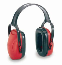 Howard Leight by Honeywell Bilsom Mach 1 DiElectric HeadBand Economy Model Ear Muffs (NRR 18)