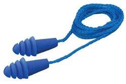 Elvex Quattro Reusable Ear Plugs Corded (NRR 27, SNR 34)