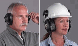 Ear Muffs for Hard Hats