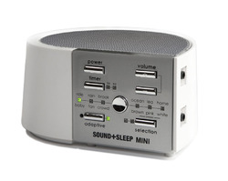 ASTI Sound + Sleep MINI Adaptive Sound Sleep Therapy Travel White Noise Machine