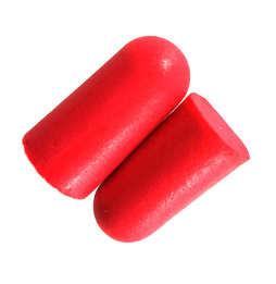 Got Ears? Red Hots! UF Foam Ear Plugs (NRR 32) (Case of 1000 Individually Wrapped Pairs)