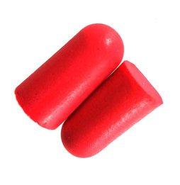 Got Ears? Red Hots! UF Foam Ear Plugs (NRR 32) (Case of 1000 Pairs)