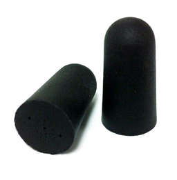 Got Ears? Back in Black UF Foam Ear Plugs (NRR 32) (Case of 1000 Pairs)