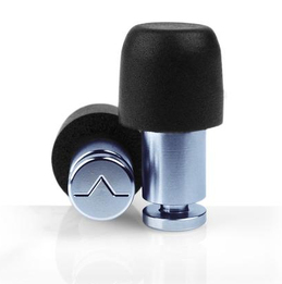 Flare Audio ISOLATE MiNi Aluminum Solid Metal Ear Plugs (SNR 35)