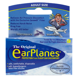 Cirrus EarPlanes Ear Plugs for Flying (NRR 20)