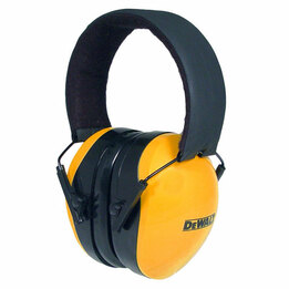 Dewalt Interceptor High Visibility Folding Model Ear Muffs (NRR 29)