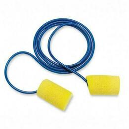 E-A-R Classic PVC Foam Ear Plugs Average - Corded (NRR 29) (Case of 2000 Pairs)