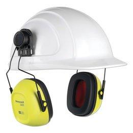 Honeywell Howard Leight VeriShield VS130HHV Hard Hat, Hi-Viz Earmuff (NRR 27)