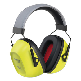 Honeywell Howard Leight VeriShield VS130HV Over-the-Head, Hi-Viz Earmuff (NRR 30)