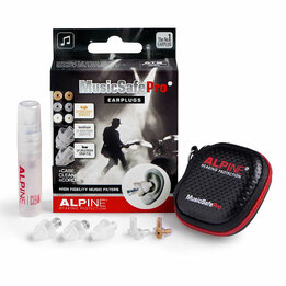 MusicSafe Pro Professional Musician and Concert Ear Plugs (NRR 8/11/16)