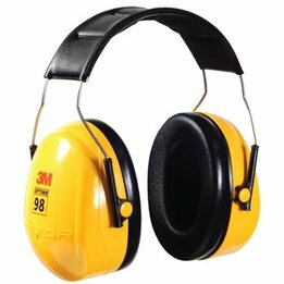 Peltor Optime 98 H9A/H9P3E Hi Viz Headband Model Ear Muffs (NRR 25)