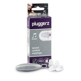 Pluggerz All-Fit Music Earplugs (NRR 23.1-28.1)