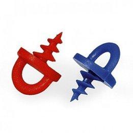 Screw-In Custom Ear Plug Handles (1 Pair)