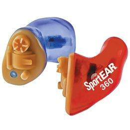 SportEAR Custom 360 ITE Custom Molded Hunting Hearing Aid (NRR 27)