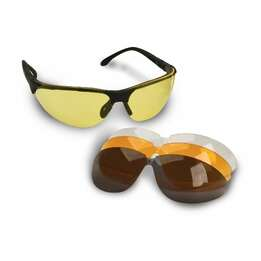 Walker's Game Ear GWP-ASG4L2 Sport Glasses with Interchangeable Lenses