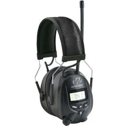 Walker's RDOM Digital AM/FM Radio Ear Muffs with Noise Protection (NRR 25)