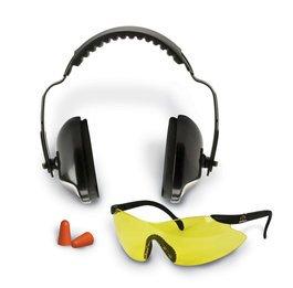 Walker GSM GWP-RMYGFP Sport Combo Kit (NRR 31) (Earmuffs + Ear Plugs + Glasses)