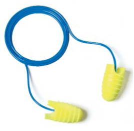 E-A-R Soft Grippers UF Foam Ear Plugs Corded (NRR 31) (Box of 200 Pairs)