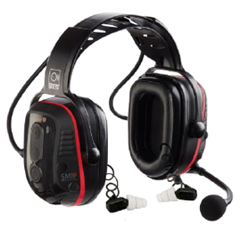Sensear SM1PW ISDP Intrinsically Safe Dual Protection Communications Headset - Bluetooth/Short Range Only (NRR 31)