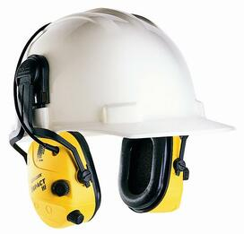 Howard Leight by Honeywell 1010376 Bilsom Impact Tactical HardHat Model Ear Muffs (NRR 21-23)
