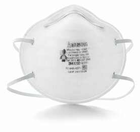 3M 8200 N95 Disposable Respirator (N95) (Case of 160 Masks)