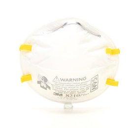 3M 8210PLUSPRO N95 Disposable Respirator (N95) (Case of 80 Masks)