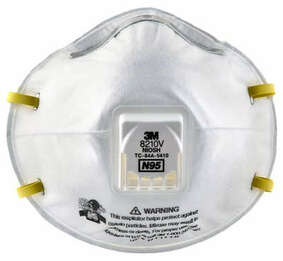 3M 8210V N95 Disposable Respirator (Case of 80)